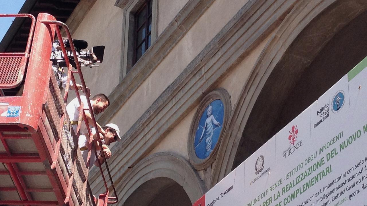 Il restauro dei Putti di Andrea della Robbia